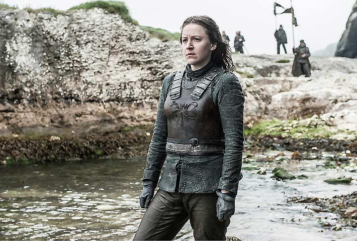 Yara Greyjoy (Gemma Whalen) Game of Thrones S-6