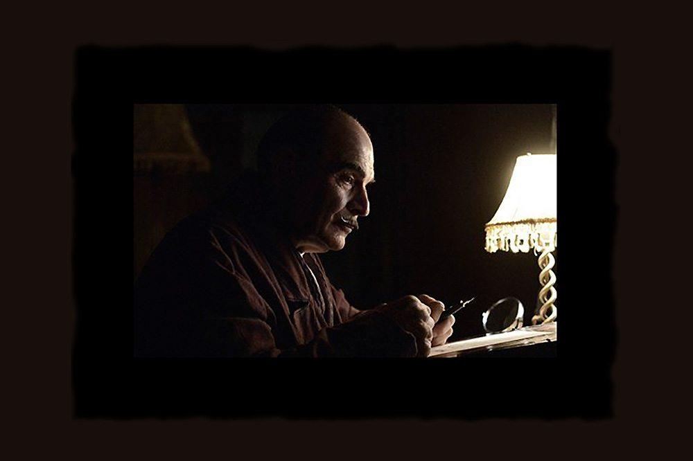 David Suchet in Curtain