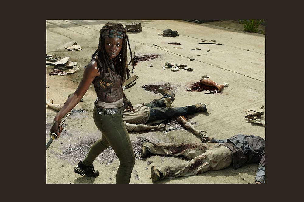 Michonne-Walking Dead-S 5